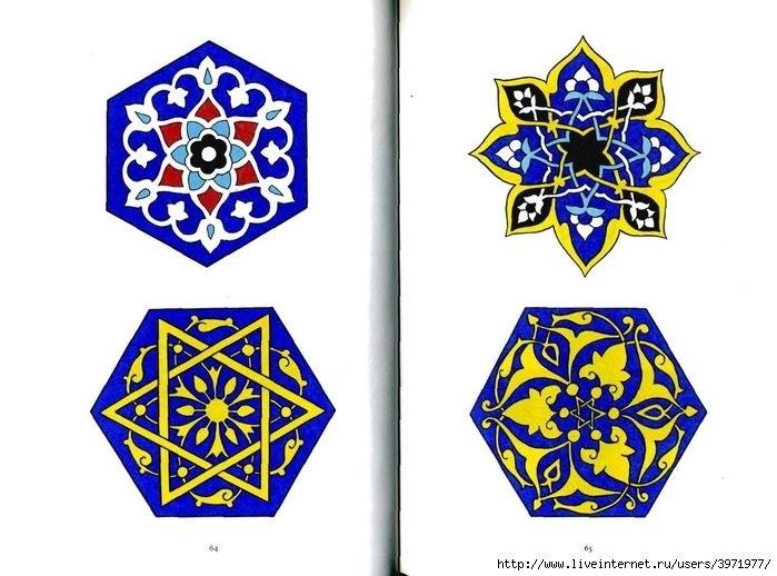 мусульманские орнаменты 014