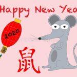 Нарисованные картинки на новый год крысы — картинки