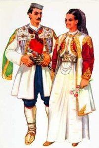 национальный костюм албания 024