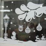 На новый год на окна картинки — фотки