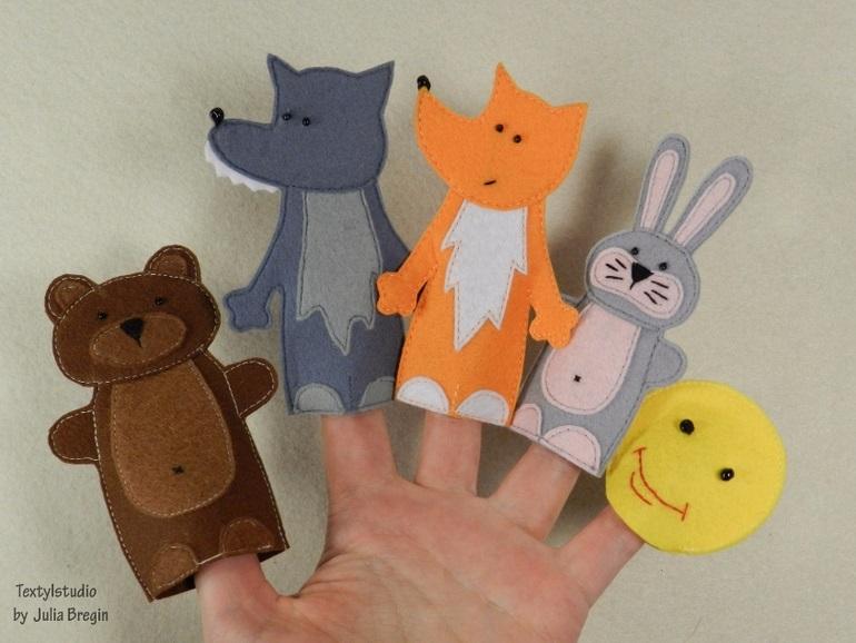на пальцы игрушки своими руками 002