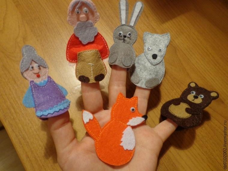 на пальцы игрушки своими руками 004