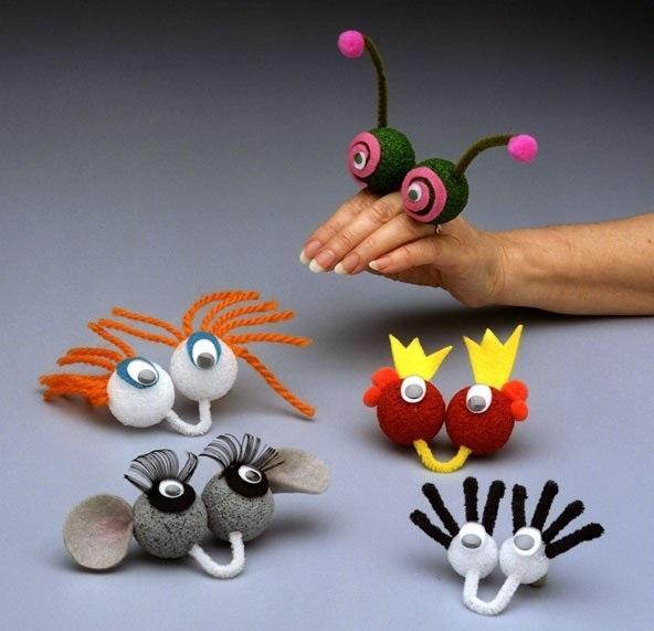 на пальцы игрушки своими руками 012
