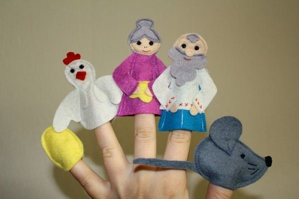 на пальцы игрушки своими руками 017