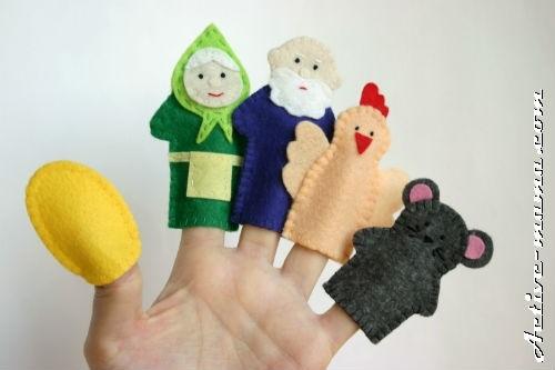 на пальцы игрушки своими руками 018