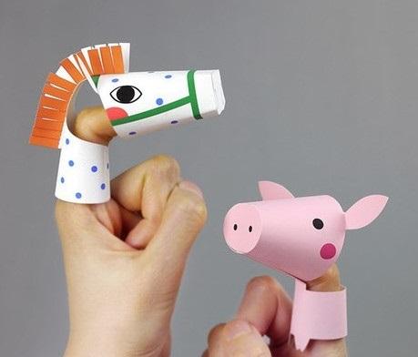 на пальцы игрушки своими руками 019