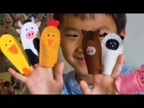на пальцы игрушки своими руками 021