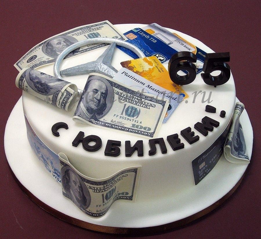 на 50 лет как украсить торт 001
