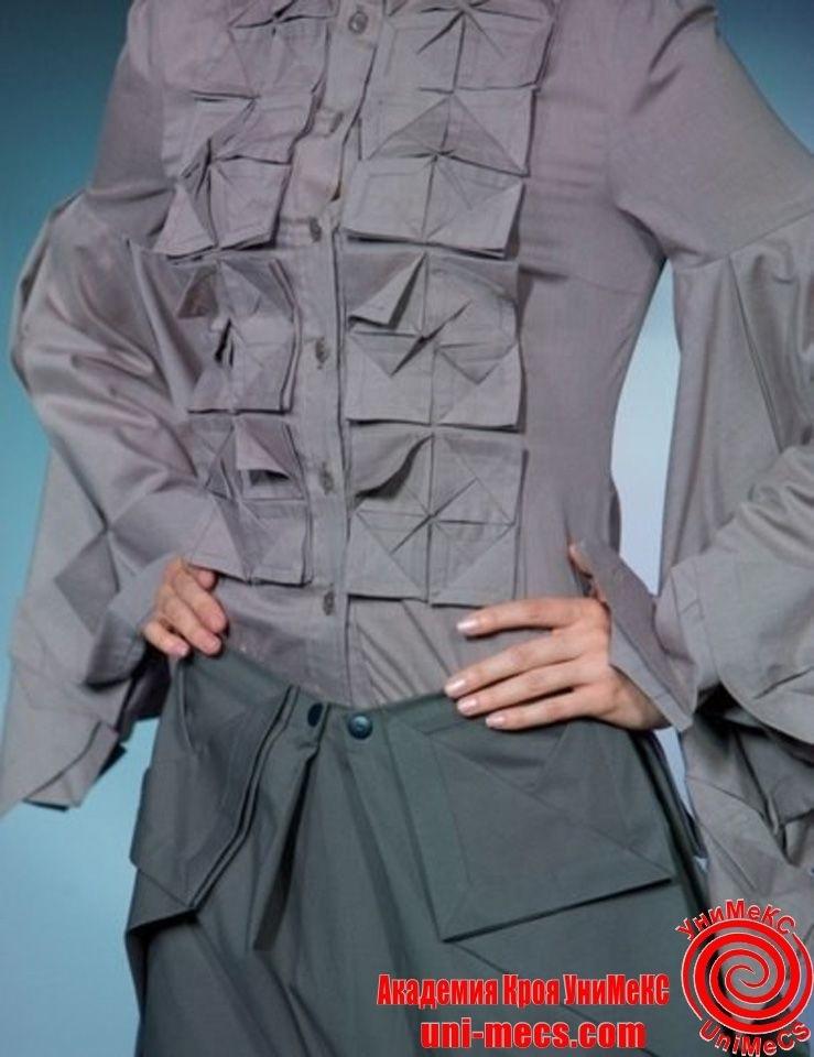 оригами в одежде 002