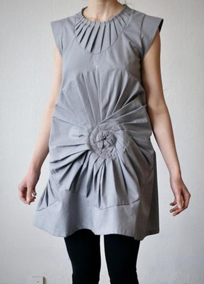 оригами в одежде 004