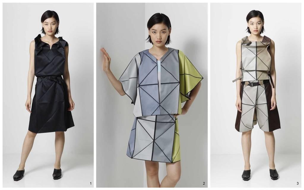 оригами в одежде 006