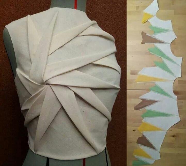оригами в одежде 010