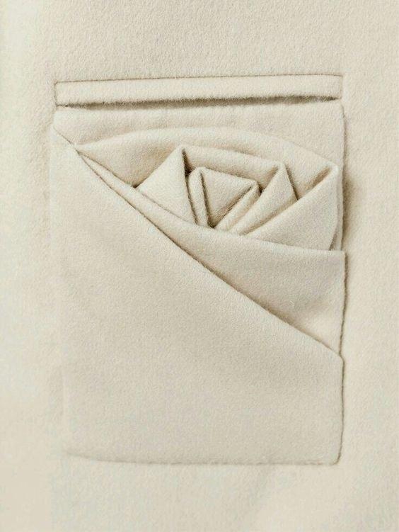 оригами в одежде 011