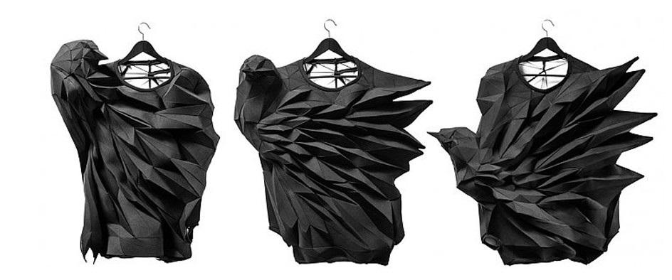 оригами в одежде 013