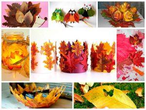 осенние картинки из природного материала 022