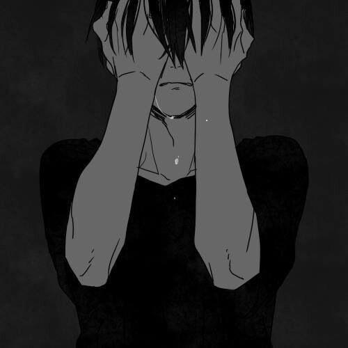 парень плачет арт 020