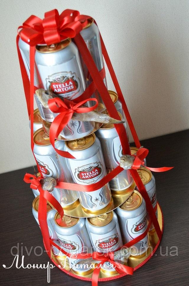 подарок мужу на день рождения своими руками из пива 023