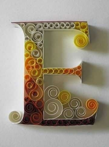 поделка своими руками буквы алфавита 018