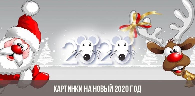 прикольные картинки на новый год 2020 001