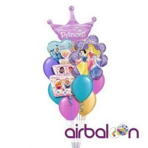 принцессы из шаров 024