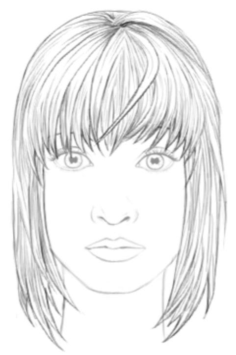 прически нарисованные карандашом 017