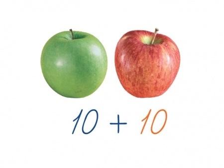 раздаточный материал яблоки 023