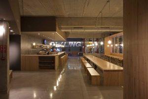 рестораны в деревянном стиле 017