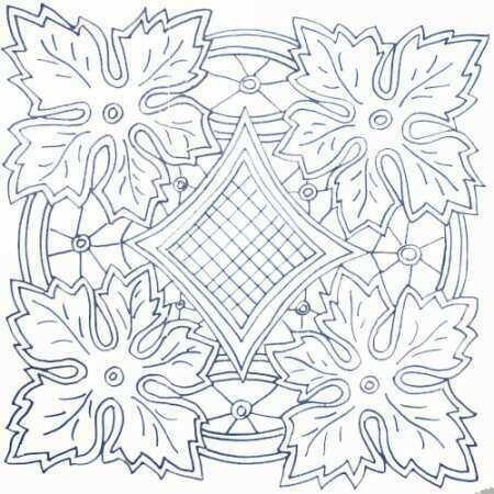 рисунки для вышивки ришелье 013