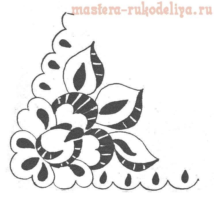 рисунки для вышивки ришелье 016