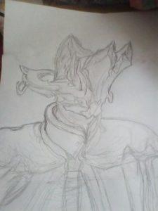 рисунки warframe 018