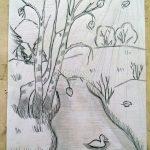 Рисунок за 5 минут гуашью — коллекция