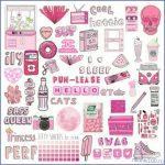 Прикольные розовая тема для личного дневника
