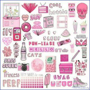 розовая тема для личного дневника 014