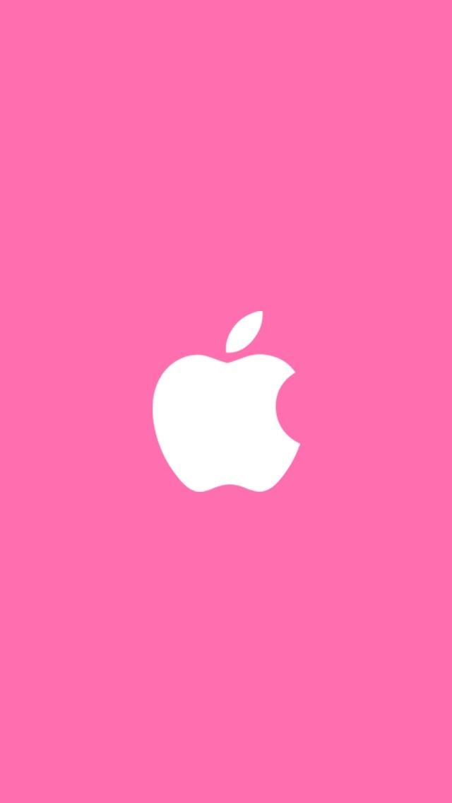 розовые обои для айфон 023