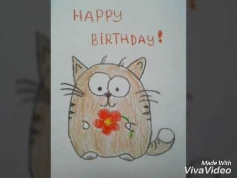 самодельные открытки на день рождения подруге 022
