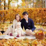Семья осенью — прикольные картинки