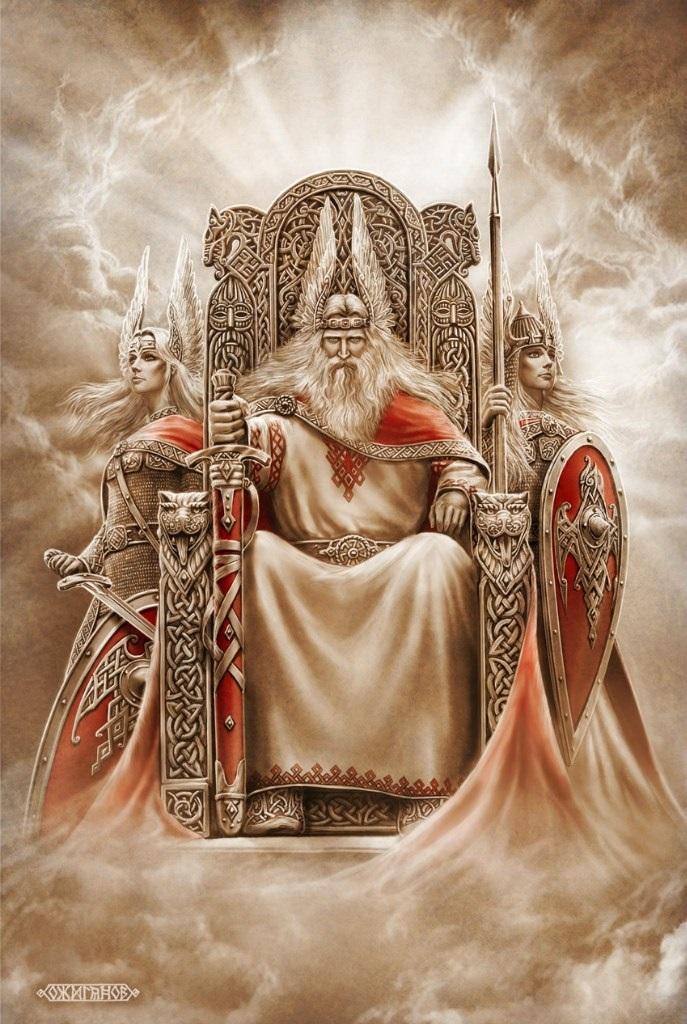 скандинавские боги обои на телефон 020