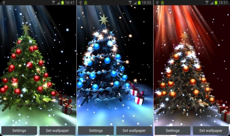 скачать на телефон картинки про новый год 015