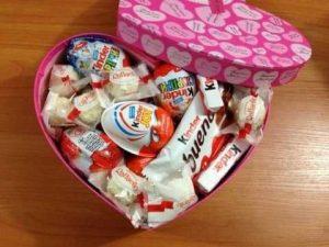 сладости в коробке на день рождения 016