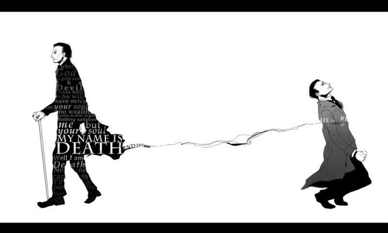 смерть сверхъестественное арт 016