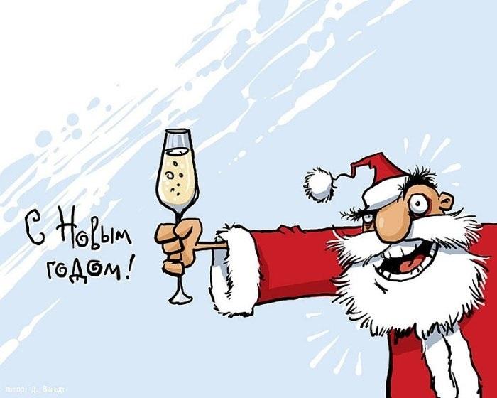 смешные картинки скоро новый год 011