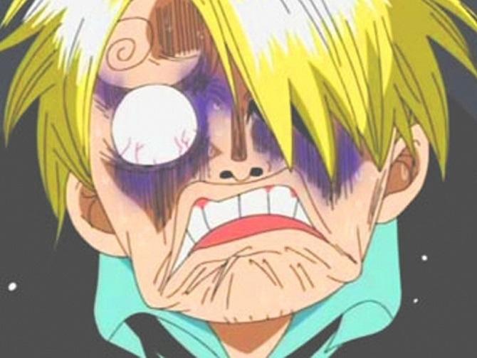 смешные рожи аниме 002