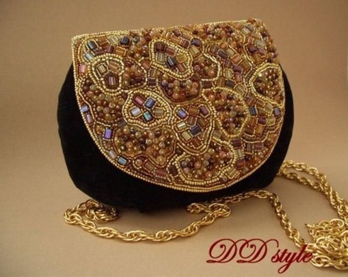 сумочки из бисера своими руками 012