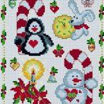 Схема вышивки рождество — интересные фото