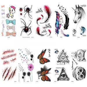 татуировки на хэллоуин 019