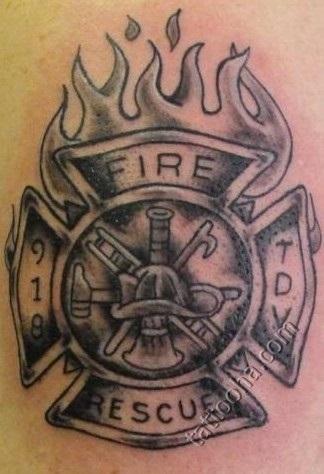 10 пожарных татуировок, которые стоит себе сделать: pozar_ru ... | 474x324