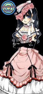 темный дворецкий сиэль в платье 023