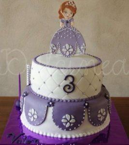 тортики с принцессой софией 024