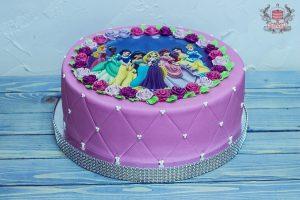 торты для принцесс 024
