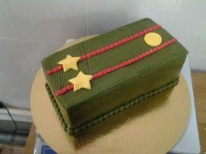 торт военная тематика 024